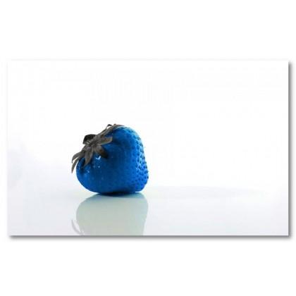 Αφίσα (μπλε, φράουλα, φρούτα, μαύρο, λευκό, άσπρο)